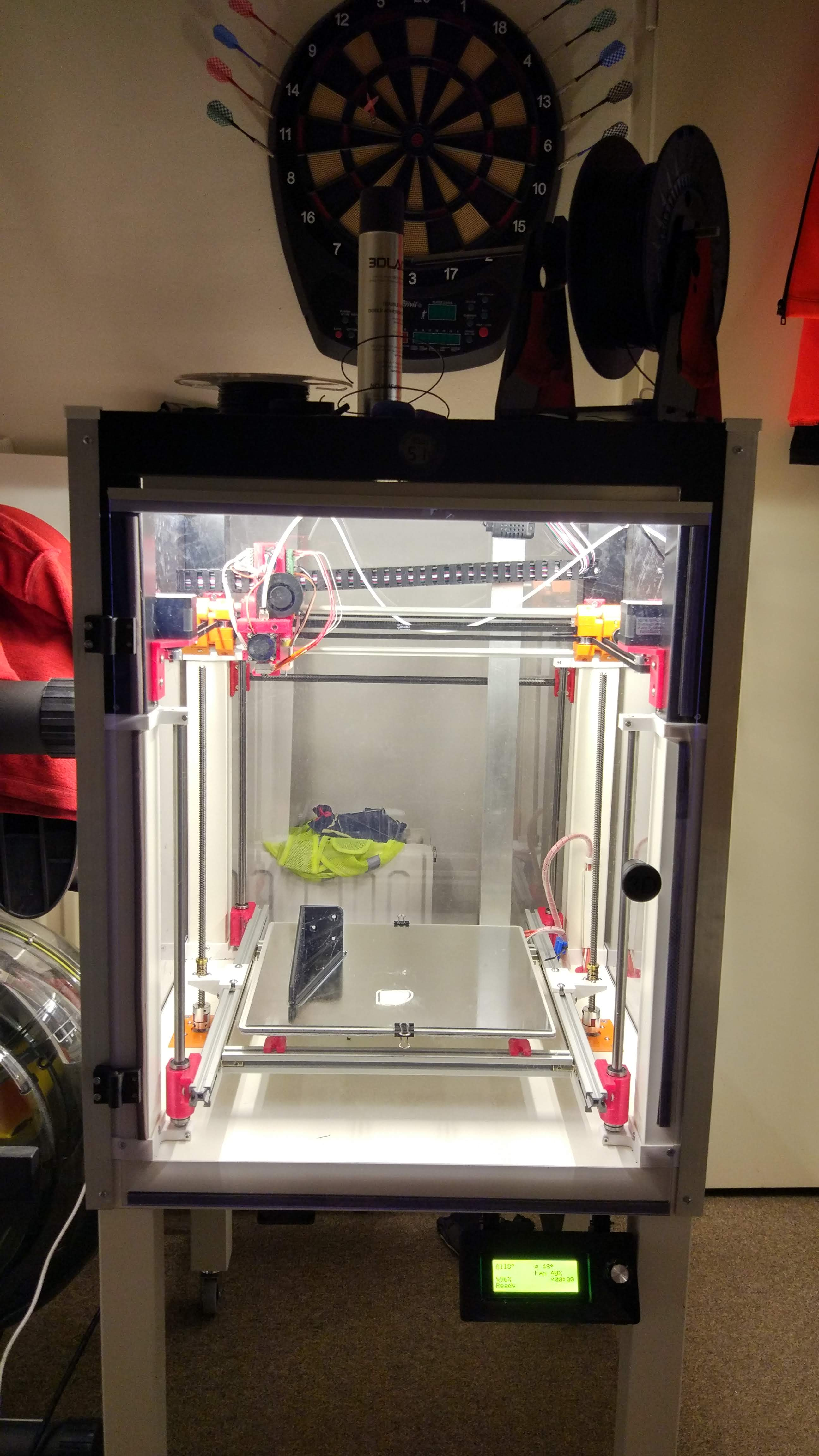 3d-eVo printer – going one… or maybe two levels up